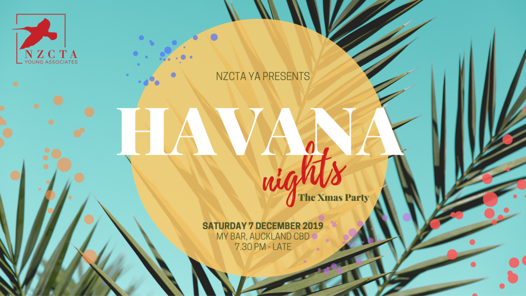 Havana Nights: The YA Xmas Party 2019